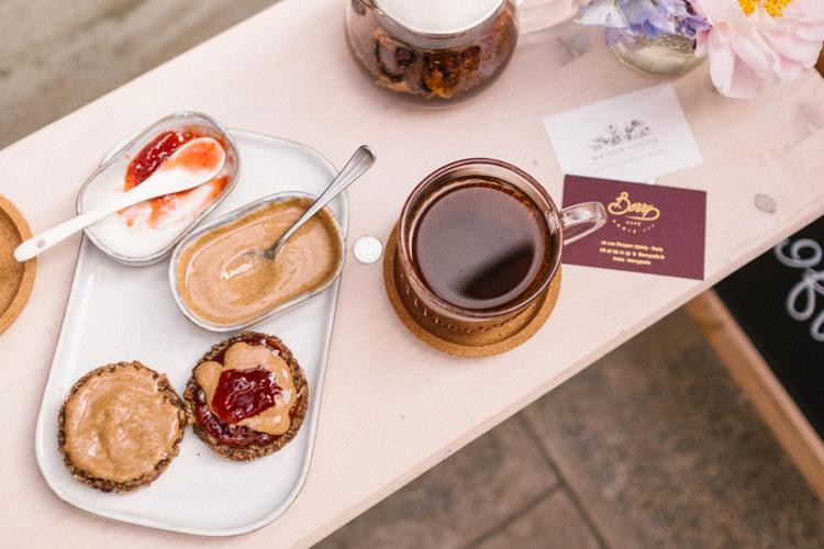Café Berry - sans gluten à Paris ©Café Berry