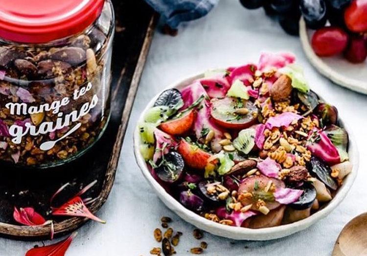 Mange Tes Graines - granola sans gluten à Paris - ©Virginie Robichon