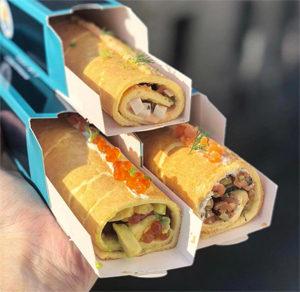 Le guide des sandwichs sans gluten à Paris ! Les Rostoffs de Petrossian @Omnomnom