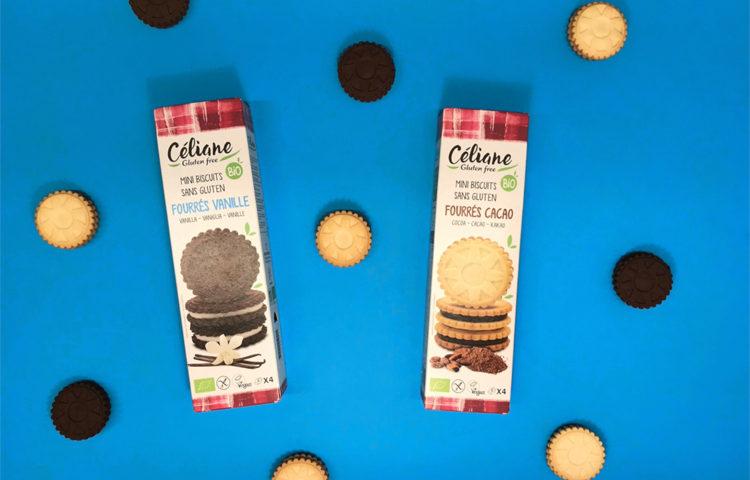 Gagnez vos biscuits fourrés sans gluten avec Céliane ! ©Because Gus