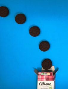 Gagnez vos biscuits fourrés sans gluten avec Céliane ! Vanille ou choco ? ©Because Gus