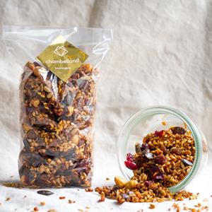 Où trouver un granola sans gluten ?! Granola Chambelland - ©Studio Artichaut