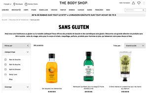 Gluten dans le savon et le shampooing, un problème ? ©The Body Shop
