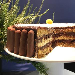 Qui veut gagner des sticks sans gluten au chocolat ?! Et voilà le résultat ©Because Gus