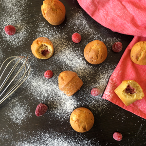 La recette des mini muffins sans gluten de Céliane - Attention, ils sont addictifs ! ©Because Gus