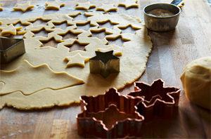 Biscuits de Noël sans gluten et vegan ©Joanna Kosinska