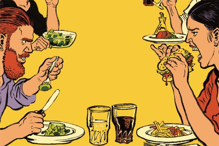 Quand L'Express culpabilise les mangeurs sans… ©Erwann Terrier pour L'Express