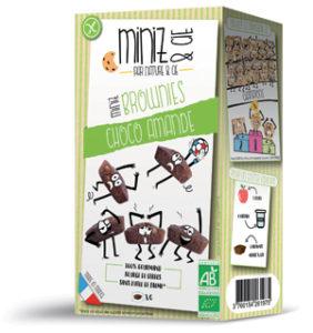 Nature & Cie lance les Miniz & Cie sans gluten et bio ! Les Miniz & Cie brownies ©Nature & Cie