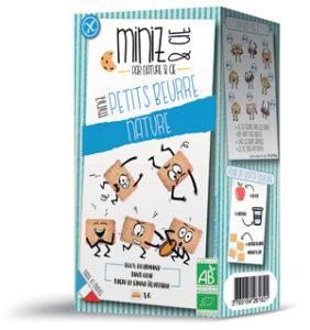 Nature & Cie lance les Miniz & Cie sans gluten et bio ! - Les Miniz & Cie petits beurre ©Nature & Cie