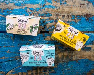 Avalanche de yaourts sans lactose ! ©The Coconut Co.