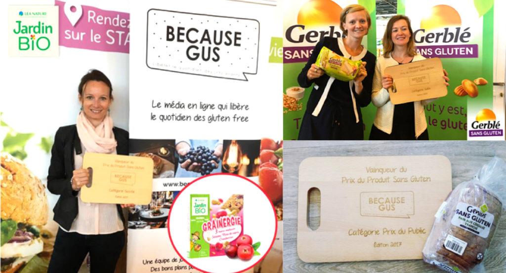 Le Prix du Produit Sans Gluten revient ! Les gagnants de la 1ère édition ©Because Gus