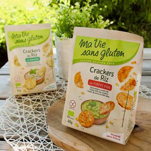 Ma Vie Sans Gluten fête ses 10 ans ! Les crackers ©Ma Vie Sans Gluten