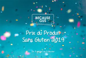 Le Prix du Produit Sans Gluten revient ! ©Because Gus