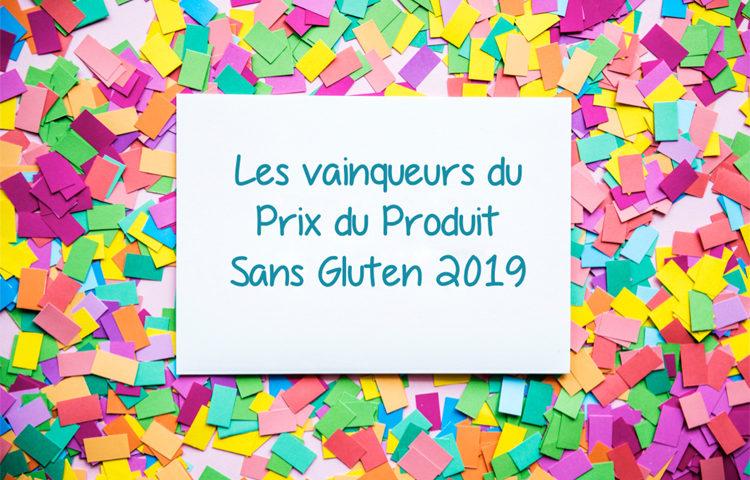 Les vainqueurs du Prix du Produit Sans Gluten 2019 ! ©Because Gus