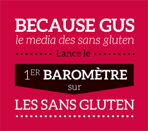 Because Gus lance le 1er baromètre sur les sans gluten ! ©BlindSALIDA pour Because Gus