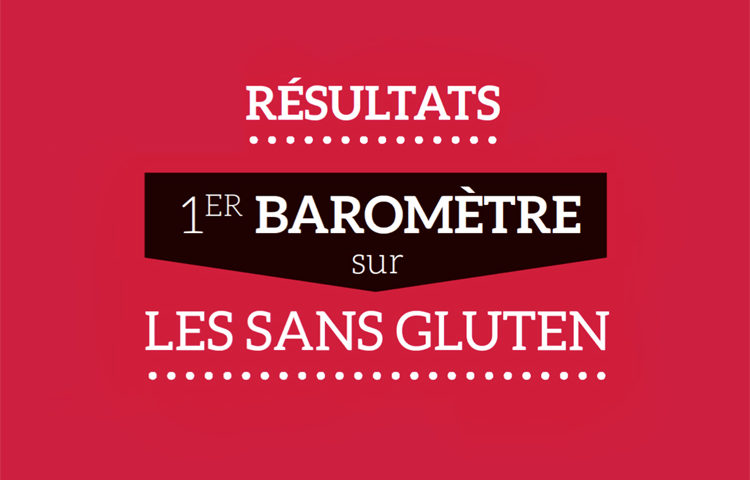 Les résultats du baromètre sur les sans gluten 2019 ©blindSALIDA pour Because Gus