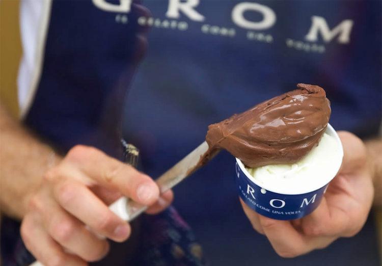 Grom - glaces 100% sans gluten
