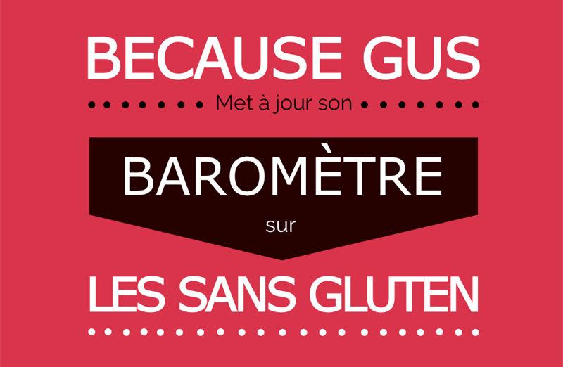 Baromètre des sans gluten, c'est reparti ! ©Because Gus