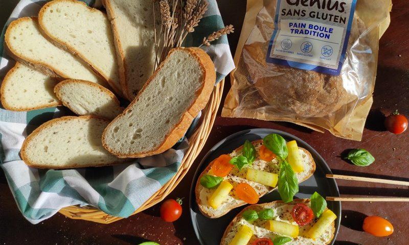 Genius lance un nouveau pain sans gluten chez Monoprix !