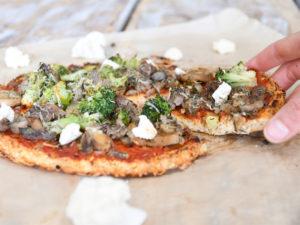 Atelier pizza sans gluten en live avec Charlotte ! ©Charlotte Recoquillon