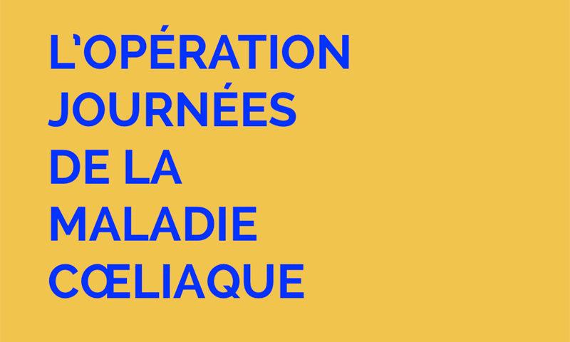 Comment participer à l'Opération Journées de la Maladie Cœliaque ? ©Because Gus