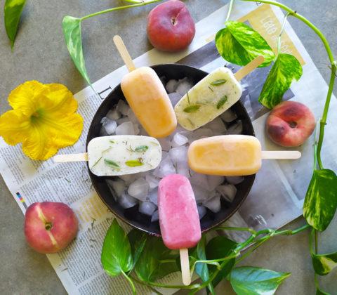 Popsicles frais et faits maison ! ©Because Gus