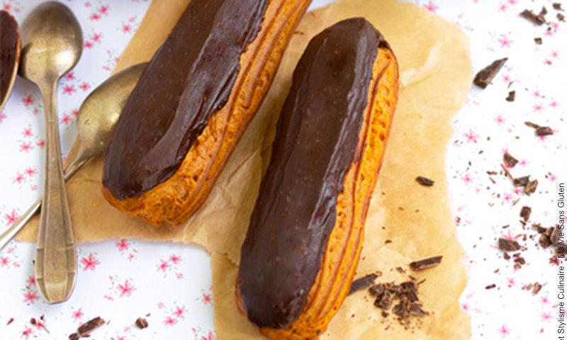 Envie d'un éclair au chocolat sans gluten ?!