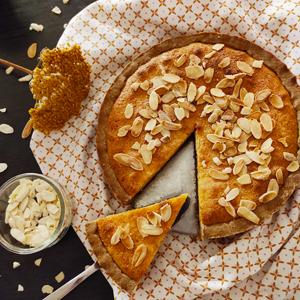 La tarte choco-frangipane sans gluten et sans lait ©Because Gus