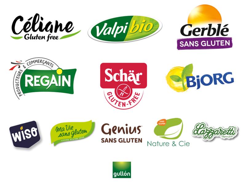 Les marques partenaires des Journées du Sans Gluten
