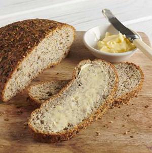 Le Pain Boule Multi-Graines Riche en Fibre de Genius, meilleur pain sans gluten !